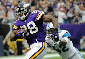 Adrian Peterson will have a difficult climb back to the summit of the league's top running backs but he's still in the prime of his career.