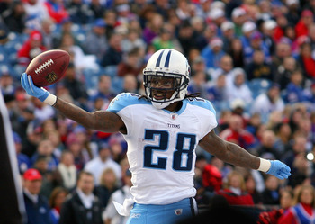 Chris Johnson hopes to get back to the end zone more often this season in Tennessee.