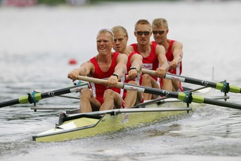 Denmark Lightweight Fours Team