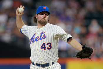 R.A. Dickey makes a great target for Stephen Strasburg owners in head-to-head leagues.