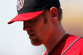 Stephen Strasburg's potential innings cap looms over the entire fantasy world.