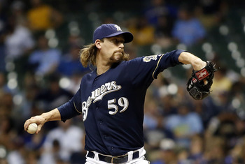 John Axford could provide a Daniel Bard type presence in the Red Sox bullpen.