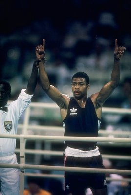 Roy Jones Jr. at the '88 Seoul Olympics.