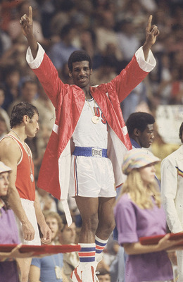 Michael Spinks at the '76 Olympics in Montreal (Image courtesy of cnnsi.com).