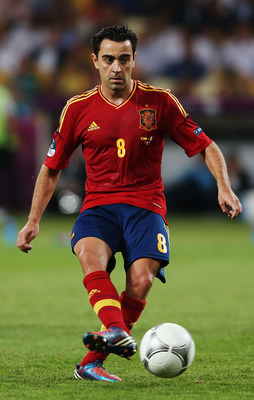 A typical Xavi pass.