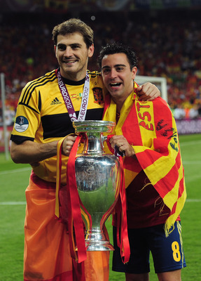 Iker and Xavi.