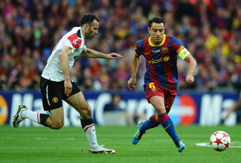 Giggs vs. Xavi