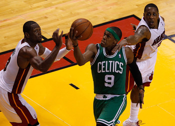Rondo and the Celtics open the season against Miami.
