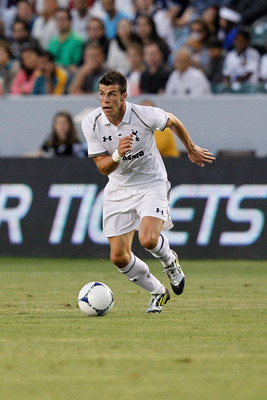 CARSON, CA - JULY 24: Gareth Bale #9 of the Tottenham Hotspur in action during the international friendly match against Tottenham Hotspur and Los Angeles Galaxy at The Home Depot Center on July 24, 2012 in Carson, California. (Photo by RicTapia/Getty Imag