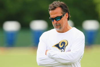 Jeff Fisher will have the Rams improved in 2012.