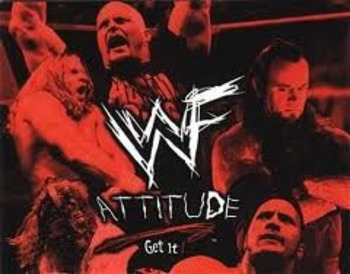 Attitude! That's the way we like it. Image by WWE