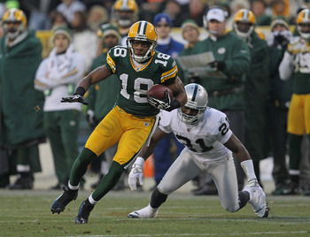 Randall Cobb; this year's Victor Cruz