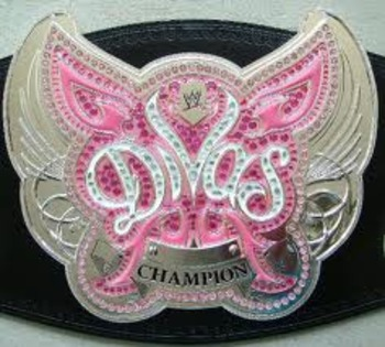 At least the Divas look better than the belt...