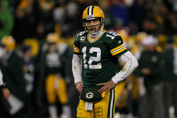 2012 NFL MVP Aaron Rodgers