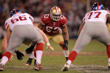 Pro Bowler NaVorro Bowman led the 49ers in tackles in 2011
