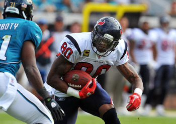 Texans wide receiver Andre Johnson hopes to stay healthy in 2012