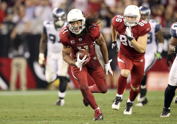 Arizona's Larry Fitzgerald remains one of the best receivers in the game