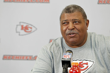 Head coach/defensive coordinator Romeo Crennel leads the intriguing Chiefs