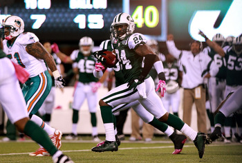 Jets cornerback Darrelle Revis has just about everything covered