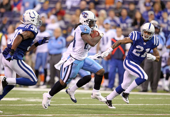 Titans running back Chris Johnson looks to rebound from an off year (for him)