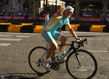 Alexander Vinokourov surprised with gold in cycling.