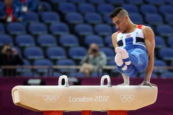 Louis Smith led GB to a great day in gymnastics.