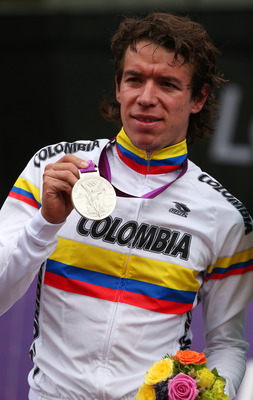 Rigoberto Uran's won Colombia's second silver medal since 1984.