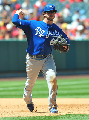 Mike Moustakas has surprised many with his defensive ability.
