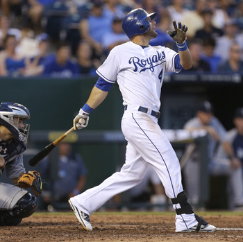 Alex Gordon has hit at least .340 in both June and July.