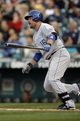 Billy Butler seems to have tapped into his raw power more this season.