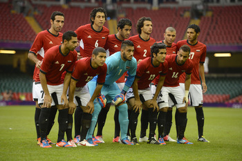 Egypt has to be the sentimental favorites for the Olympic soccer tournament