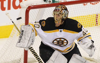 Tuukka Rask of the Boston Bruins was initially drafted by the Toronto Maple Leafs.