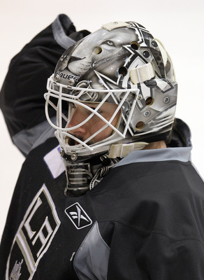 Jonathan Bernier is likely on his way out of a Los Angeles Kings uniform.
