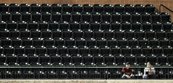 This is about as big a crowd as the Astros deserve this year.
