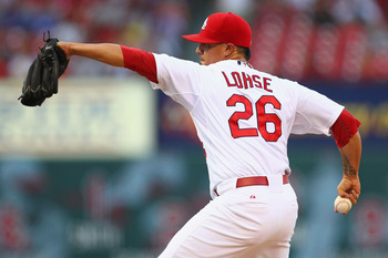 Lohse has done an exceptional job filling in for Chris Carpenter