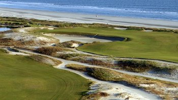 The Par-5 16th Hole at the Ocean Course