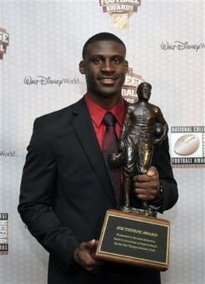 Morris Claiborne, 2011 Jim Thorpe Award Recipient