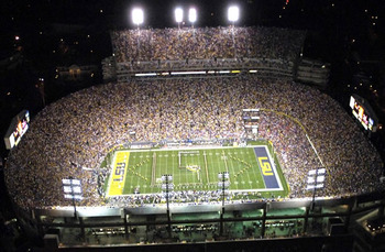 http://www.saturdaydownsouth.com/2011/lsu-tiger-stadium-sec-night-games/