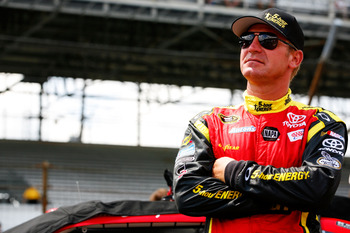 Clint Bowyer dropped to 10th after a subpar run at Indy