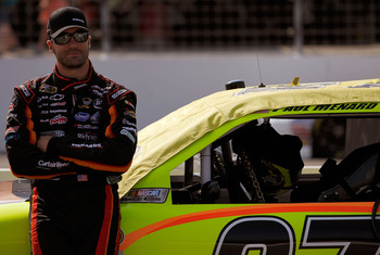 Paul Menard never challenged in the race he won a year ago