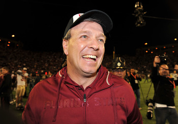2012 could finally be the year Jimbo Fisher has reason to smile in Tallahassee
