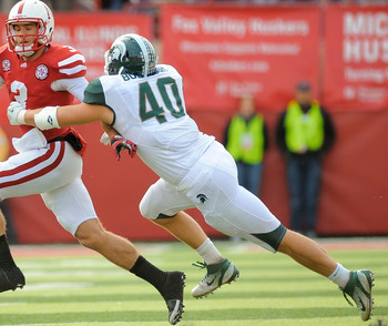 Michigan State linebacker Max Bullough is one of four Spartans on the 2012 Bednarik Award Watch List.