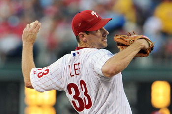 Cliff Lee would help this year and bolster the Yankees staff in the future.