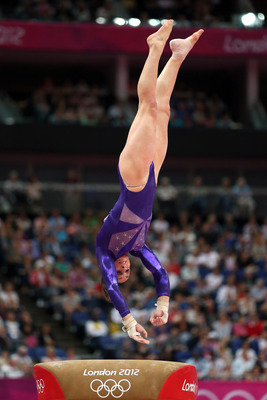 McKayla Maroney is an assassin on the vault.