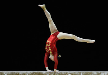 Lu is China's best hope for an individual event gold.