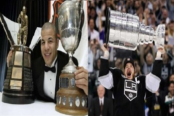 Jarome Iginla and Dustin Brown define what an