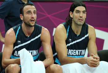 Ginobili and Scola gave it all they had against France.