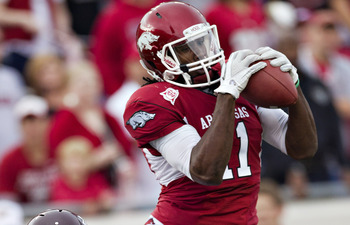 Arkansas WR Cobi Hamilton