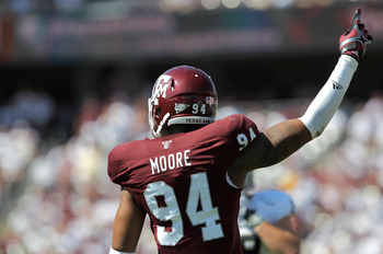 Texas A&amp;M DE Damontre Moore