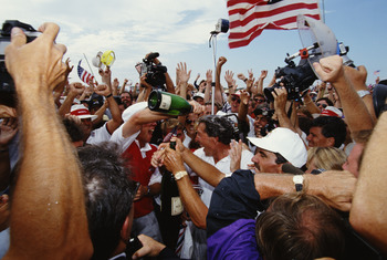 Shades of the 1991 Ryder Cup win at Kiawah